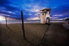 The Lifeguard Tower at Main Beach.
