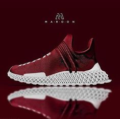 Dope hu nmd x futurecraft concept (by maroonnyc on ig) nike Futuristic Shoes, Sneakers Fashion, Shoes Sneakers, Nike Boots, Popular Sneakers, Only Shoes, Shoes Outlet, Shoe Collection, Adidas Shoes
