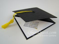 Grad Cap Gift Card Holder by Qbee - Cards and Paper Crafts at Splitcoaststampers