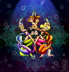 We are the Daughters of Triton by ~thedustyphoenix on deviantART