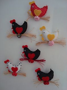 enfeite de cozinha com galinha de pano - Pesquisa Google