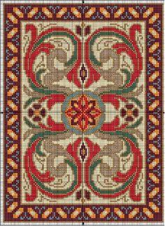 Freya en el país de las miniaturas: Follow the link for carpet patterns