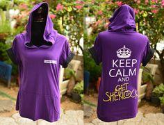 SHERLOCK bbc purple and black Cotton Hoodie short sleeve Sherlock logo and keep calm and get Sherlock - Summeriscoming Summer Is Coming, Sherlock Bbc, Inspirational Gifts, Purple And Black, Black Hoodie, Black Cotton, Calm, Logo, Hoodies