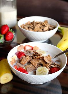 Homemade Bran Flakes Cereal