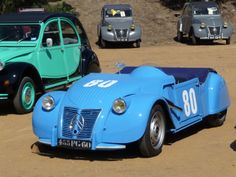2cv's at Euro Citro meeting in Le Mans 20