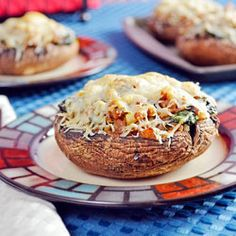 Sausage Stuffed Mushrooms - I used mild Italian sausage & cooked for 17 min to ensure the mushrooms were tender.