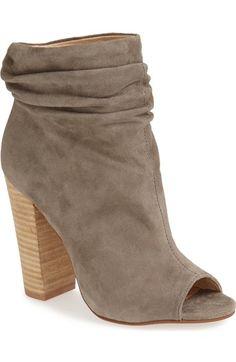 Kristin Cavallari 'Laurel' Peep Toe Bootie (Women) available at #Nordstrom
