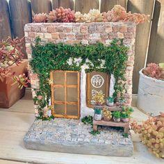 Miniature Crafts, Miniature Fairy Gardens, Garden Crafts, Garden Art, Terracotta Jewellery Online, Cactus E Suculentas, Pottery Pots, Doll House Crafts, Pottery Workshop