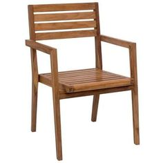 Nautical Dining Arm Chair Natural (Set of 2)