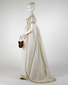 Round Gown 1798 The Metropolitan Museum of Art