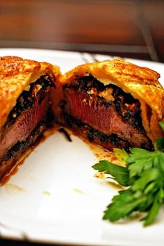 Individual Beef Wellingtons with Caramelized Onions and Bleu Cheese Rosemary Compound Butter12