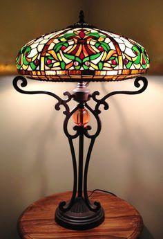 Galicia 16inch Tiffany Table Lamp
