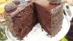 Torta brigadeiro de chocolate y leche condensada