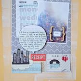 Studio Calico Sunday Sketch from this layout . . . Random by TIna Aszmus
