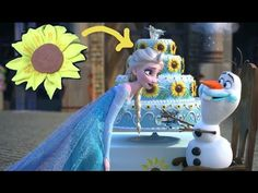 Frozen Fever: How to make a sunflower fondant cutter - YouTube