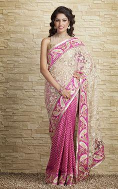 Indian-Designers-Beautiful-Bridal-Wedding-Saree-dress-Design-New-Fashionable-Sari-for-Girls-Women-6