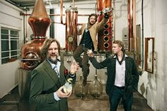 The Sipsmiths: Jared, Sam, Fairfax, and Prudence / Photo: Sipsmith
