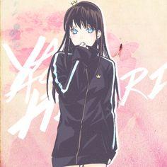 hiyori on yato / noragami Noragami Anime, Yatogami Noragami, Manga Anime, Yato And Hiyori, Anime Amor, Tokyo Ghoul, Otaku, Yatori, Animes Wallpapers