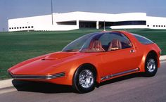 AMC Pacer prototype ~ So much more interesting than what was built.