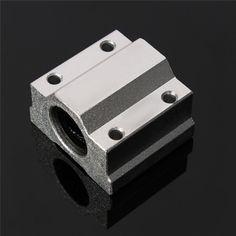 SC8UU SCS8UU 8mm Slide Unit Block Bearing Steel Linear Motion Ball Bearing Slide Bushing Shaft CNC Router DIY 3D Printer Parts