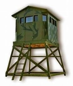 How To Build An Elevated Deer Blind 6x6 Deer Box Stand