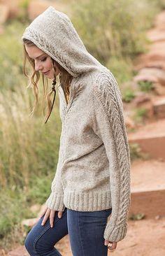 baf2fc34c5d0 Snowbowl Hoodie. Knitted Coat PatternSweater Knitting PatternsCrochet  CardiganKnitting StitchesFree KnittingCable ...