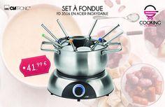 Set a #fondue appareil électrique indispensable pour les #fans de la #recettes et des #recettes originales https://www.cooking-shopping.com/products/set-a-fondue