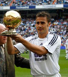 Fabio Cannavaro (Real Madrid. Italie). Ballon d'Or 2006.