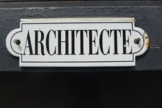 acrhitecte