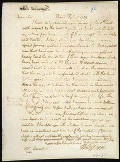 Thomas Jefferson to John Trumbull