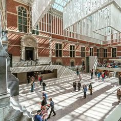 Sometimes 19th century design does not integrate with modern-day installations or accessibility requirements. This was the case with the Rijksmuseum in Amsterdam where daylight had become obstructed with suspended ceilings and blocked up windows. Our refurbishment design in collaboration with Antonio Cruz and Antonio Ortiz brought the stunning historical architecture to life and reinstated daylight into the museum again  bringing the building to a much deserved international ranking. Image…