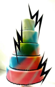 maybe cake for Sweet 16 without the lightning bolts