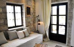 Summer house in Greece - Living room details | SISSY FEIDA INTERIORS