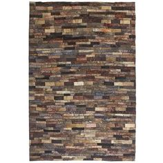 Shag Blocks Rug - 8x10
