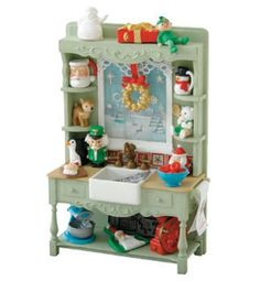 2014 Mrs Claus' Kitchen Sink (Santa's Home Collection) in-store artist signing event WANT