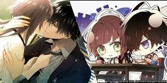 Manhwa Manga, Manga Anime, Jiang Shi, Under The Moon, K Project, Diabolik Lovers, Cute Anime Couples, Character Concept, Wands