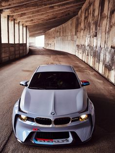 The world premiere of the BMW 2002 Hommage, a beautiful design concept paying tribute to the original BMW 2002 Turbo