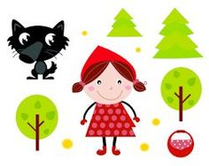Illustration about Fairy Tale icons collection isolated on white: Red Riding Hood, Wolf, Forest etc. Illustration of cute, ending, danger - 20551323 Red Riding Hood Wolf, Book And Frame, Alice, Icon Collection, Medical Illustration, Red Hood, Stories For Kids, Classroom Themes, Conte