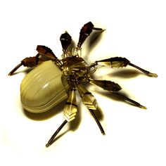 Steampunk Art Deco Spider Sculpture ring box by *CatherinetteRings on deviantART