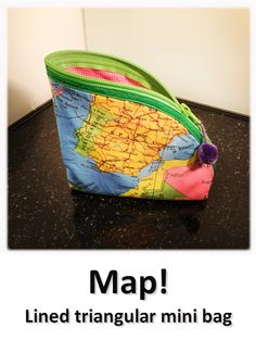 Map! Mini Bag, Coin Purse, Map, Wallet, Purses, Collection, Jewelry, Handbags, Jewlery