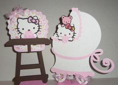 Baby Hello Kitty Centerpiece