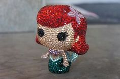 Look at these incredible Pop Vinyls that have been covered in rhinestones! Artist, Messalina Lau has really shown her talents by making these amazing creations!
