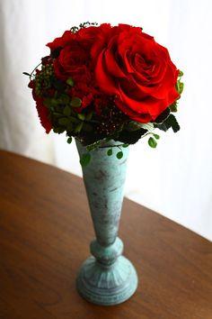 preserved flower - 神戸のプリザーブドフラワーといけばな教室悠月庵
