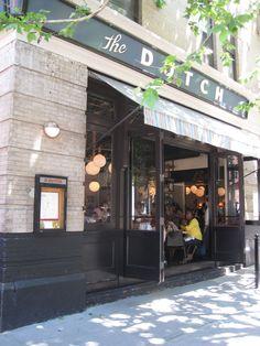 The Dutch, NY, soho. Great American diner