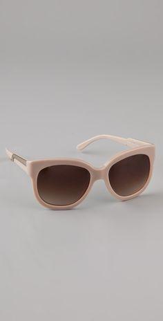 Stella McCartney Oversized Teardrop Sunglasses