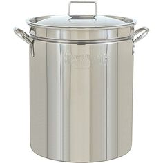 This Bayou Classic 44-quart stainless steel stockpot with lid is ideal for all those needs. And more BREW KETTLE!
