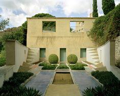 La jardin cubiste de la Villa Noailles, Hyères.