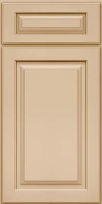 Square Raised Panel - Solid (MTD) EverCore™ in Mushroom - Base- ok certain blush tone walls