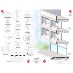 Architectural Details Project ( Precast Concrete Panels )