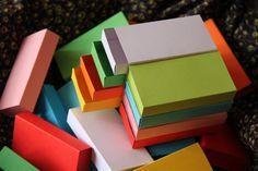 Large Sized Matchbox: Folding Instructions